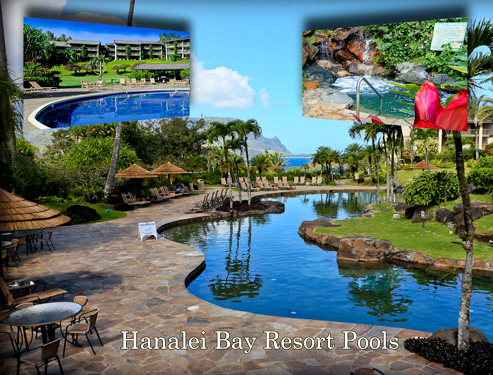 Hanalei Bay Resort Pools